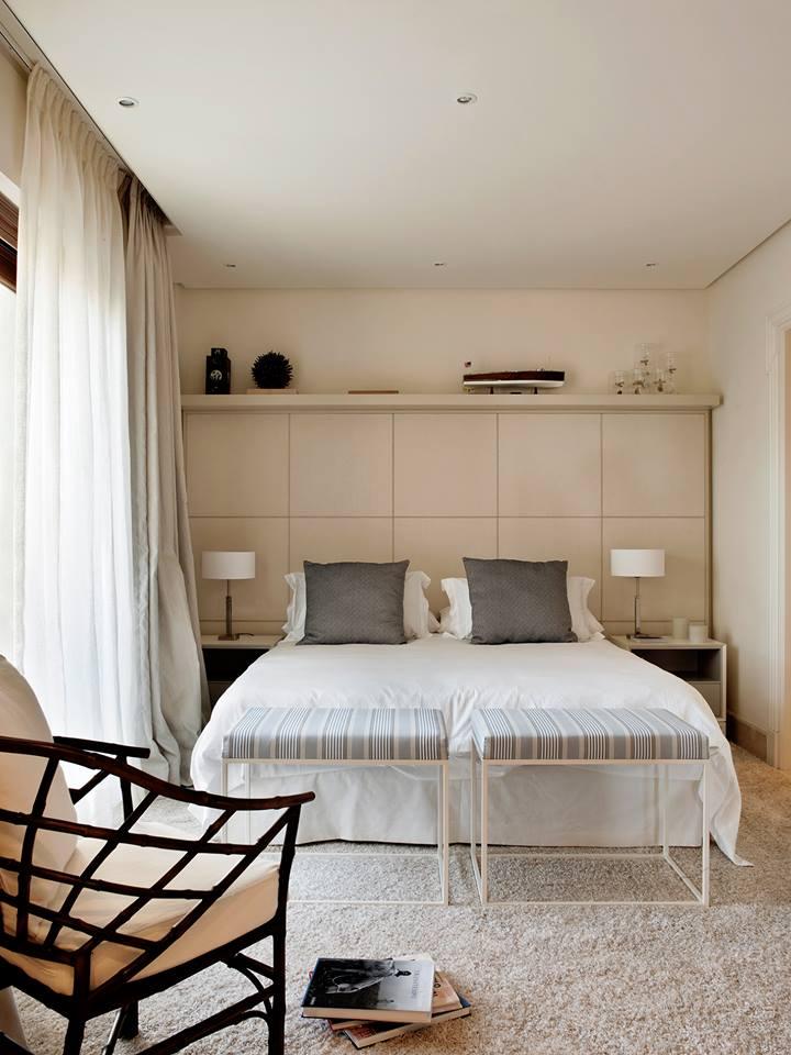 habitación de invitados con cama matrimonial.
